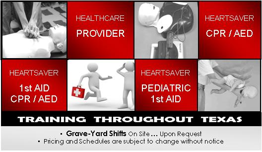 CPR Classes Infographic | San Antonio, TX